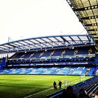 Photo taken at Stamford Bridge by Leonardo P. on 2/22/2013