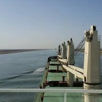 Photo taken at Suez Canal by Türkcan Burak A. on 9/21/2016