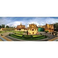 Photo taken at Royal Palace, Phnom Penh by Lex M. on 6/3/2013