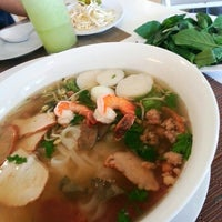 Photo taken at Pho Bac by Roby M. on 11/18/2012