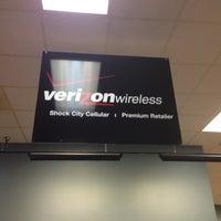 Photo taken at Verizon Wireless (Shock City Cellular) by John K. on 5/8/2013