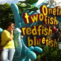 Photo taken at One Fish, Two Fish, Red Fish, Blue Fish by Allison T. on 10/28/2012