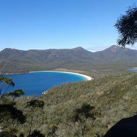 how to get to wineglass bay lookout
