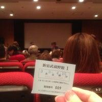Photo taken at 新宿武蔵野館 by Yasushi K. on 3/3/2013