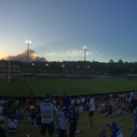Photo taken at Brookvale Oval by Roy S. on 3/4/2016