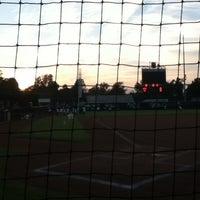Photo taken at Marita Hynes Field at the OU Softball Complex by Sean B. on 10/6/2012