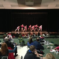 Photo taken at Stoughton High School Auditorium by Nick S. on 1/26/2013