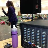 Photo taken at Stoughton High School Auditorium by Nick S. on 1/19/2013