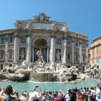 Photo taken at Trevi Fountain by Peter K. on 6/19/2013