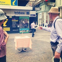 Photo taken at Brisbane Visitor Information Centre by KING M. on 10/31/2013