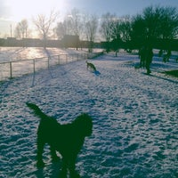 Photo taken at Columbia Dog Park by Nate B. on 3/1/2013