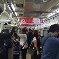 Photo taken at Stasiun Karet by said hafidh on 6/20/2016