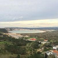 Photo taken at São Martinho do Porto by Alec Y. on 1/19/2016