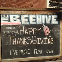 Photo taken at Beehive by Nina T. on 11/22/2012