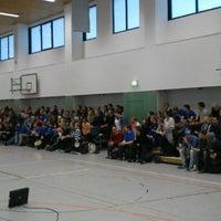 Photo taken at Universitätssporthalle by Nico D. on 3/23/2013