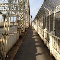 Photo taken at Macombs Dam Bridge by Anne B. on 1/25/2013