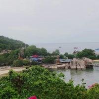 Photo taken at Koh Nang Yuan Dive Resort by Dayara on 6/18/2016