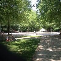 Photo taken at Warandepark / Parc de Bruxelles by Rodrigo B. on 7/7/2013