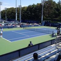 Photo taken at Court 13 - USTA Billie Jean King National Tennis Center by David A. on 8/21/2014
