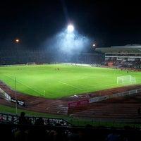 Photo taken at Stadium Negeri by Syed I. on 5/10/2013