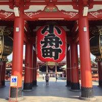 Photo taken at Senso-ji Temple by Vegaz G. on 10/2/2013