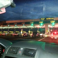 Photo taken at Bay Bridge Toll Plaza by StressdBut B. on 10/6/2012