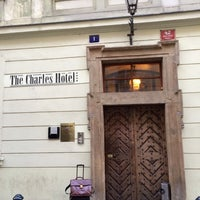 Photo taken at The Charles Hotel by Tim B. on 3/13/2014