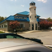 Photo taken at Shoreline Seafood by Yinka M. on 4/26/2014