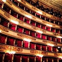 Photo taken at Teatro alla Scala by Lidia S. on 5/5/2013