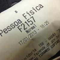 Photo taken at Secretaria de Estado de Fazenda do Distrito Federal (SEFAZ) by Ernani P. on 1/17/2013