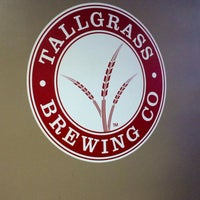 Photo taken at Tallgrass Brewing Co by Megh C. on 4/19/2014