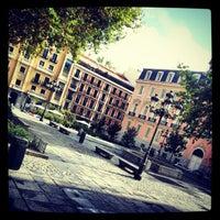 Photo taken at Plaza del Rey by Valentí P. on 10/20/2012