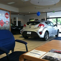 Photo taken at Ourisman Hyundai/Mazda by Devin R. on 6/13/2013
