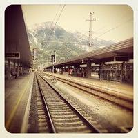 Das Foto wurde bei Innsbruck Hauptbahnhof von geheimtip ʞ. am 9/26/2012 aufgenommen
