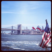 Photo taken at New York Water Taxi - Pier 11, Slip A by Jason F. on 4/7/2013
