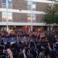 Photo taken at Churchill High School by Chris T. on 10/17/2014