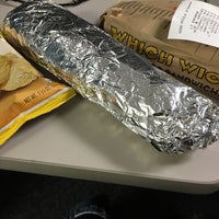 Photo taken at Which Wich? Superior Sandwiches by Valerie M. on 3/17/2016