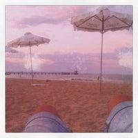 Photo taken at Южен плаж Бургас (South Beach) by Memo S. on 8/1/2013
