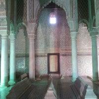 Photo taken at Saadian Tombs by Ayhan H. on 12/14/2012