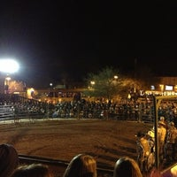 Photo taken at Buffalo Chip Saloon & Steakhouse by Johnny A. on 1/19/2013