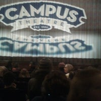 Photo taken at Campus Theatre by Daniel G. on 2/1/2014