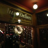 Photo taken at Aux Delices by Brian B. on 12/27/2012