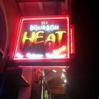 Photo taken at Bourbon Heat by Ms. Ally on 5/28/2013