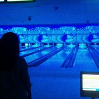 Photo taken at Cosmic Bowl by Christopher L. on 10/20/2012