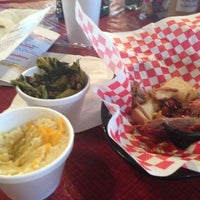 Photo taken at Hank's Catfish & BBQ by Brandi H. on 3/9/2013