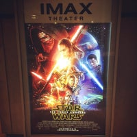 Photo taken at IMAX® Theater by Andrew S. on 12/30/2015