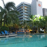 Photo taken at Crowne Plaza Hollywood Beach Resort by Havranek on 10/8/2012