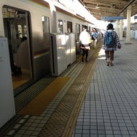 Photo taken at Yurakucho Line Shin-kiba Station (Y24) by amethstos on 9/19/2013