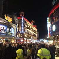 Photo taken at Leicester Square by Namer M. on 12/1/2012