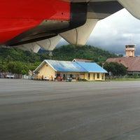 Photo taken at Bandara Tampa Padang (MJU) by Wirasandi R. on 12/29/2012